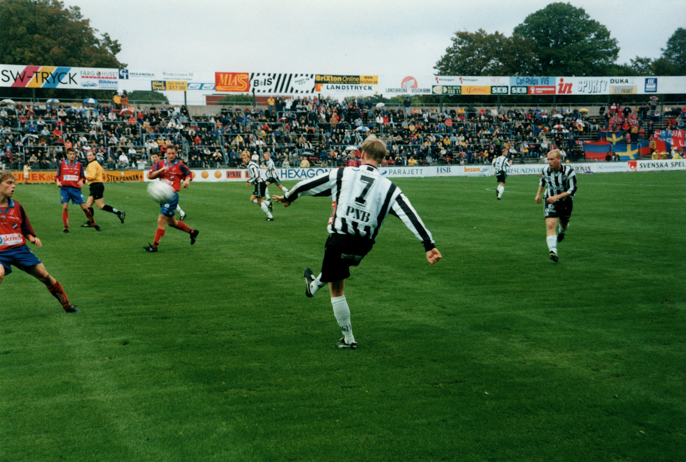 BoIS - Öster 1999. Foto: Sayed Khatib.